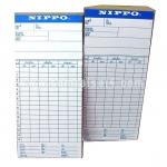 บัตรบันทึกเวลา NIPPO