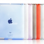 เคสซิลิโคนใสสีต่างๆ (เคส iPad 2/3/4)