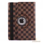 เคสหลุยส์ลายตาราง หมุนได้ 360 องศา (เคส iPad Air 2)