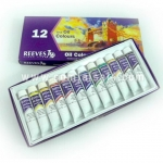 REEVES fine oil colour set 12 colour