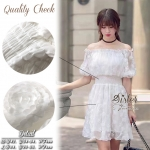 Sweet White Vintage Adorable Dress