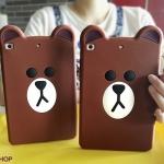 เคสซิลิโคนหมี Brown (เคส iPad Air 2)