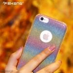 FSHANG เคสซิลิโคนสีรุ้ง ROSE RAINBOW (เคส iPhone 6 Plus / 6S Plus)