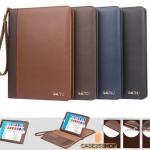 SAUYU เคสกระเป๋าหนังสไตล์นักธุรกิจ แยกชิ้นส่วนได้ (เคส iPad 2017)