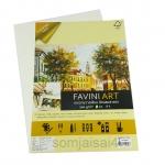 FAVINI ART ผิวเรียบ สีถนอมสายตา A4 200gsm.