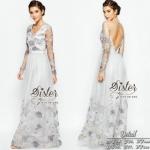 เสื้อผ้า Modern Beauty Dress แม็กซี่เดรสลุคแฟชั่นสวยหรู