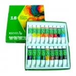 REEVES fine acrylic colour set 18 colour