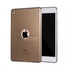 เคสซิลิโคนใส เว้าโชว์โลโก้ Apple (เคส iPad Air 2)