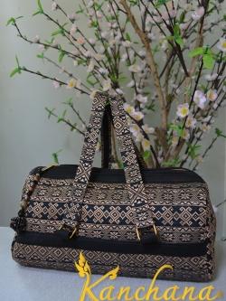 กระเป๋าแต่ง ผ้าไทย