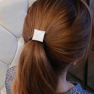 N1100 - Hair Accessories,ที่คาดผม,เครื่องประดับผม,กิ๊ปติดผม,เครื่องประดับ box diamond-studded hair accessories