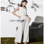 Lady Ribbon Lady Katheryn Minimal Chic Belted Jumpsuit thumbnail 5