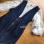 Lady ribbon Leslie Smart Printed Denim Dress thumbnail 6