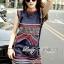 Lady Ribbon Cotton Dress เดรสผ้าคอตตอนปักลาย thumbnail 3
