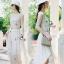 Lady Ribbon ออนไลน์ เสื้อผ้าออนไลน์ พร้อมส่งของแท้ SV02130716 &#x1F389Sevy Rising Star Knit Dress thumbnail 1
