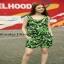 ASOS แฟชั่นจั้มสูตรเกาหลีสีเขียว เสื้อผ้าสีสันสดใส thumbnail 1