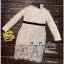 เสื้อผ้าเกาหลีเดรสผ้าลูกไม้เนื้อดี thumbnail 5