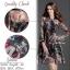 2Sister Made, 2 Premium Black Vintage Style Korea Fashion เดรสลุคสบายๆ เนื้อผ้าchiffonพริ้วใส่สบาย thumbnail 3