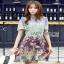 Mixed Printed Chiffon Lady Ribbon Dress เดรสผ้าพิมพ์ลาย thumbnail 1