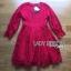 Lady Ribbon Online เสื้อผ้าออนไลน์ ขายส่งของแท้ราคาถููก LR08110716 &#x1F380 Lady Ribbon's Made &#x1F380 Lady Blaire Classic Feminine Lace Cocktail Dress thumbnail 5