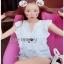 White Lady Ribbon Lace Top ขายเสื้อผ้าลูกไม้สีขาว thumbnail 1