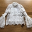 Lady Ribbon Lace Blouse เสื้อผ้าลูกไม้แขนบาน thumbnail 6