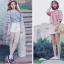 เสื้อแฟชั่นเกาหลีลายสก็อตมี 2 สี thumbnail 12
