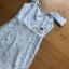 Lady Ribbon Dress ขายเดรสสายเดี่ยวเปิดไหล่พร้อมส่ง thumbnail 6