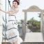 Lady Ribbon Aerin Black and White Lace Dress thumbnail 1