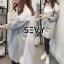 Sevy Mini dress คอปก แขนยาว thumbnail 2