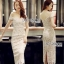 ady Ribbon Angelica White Guipure Lace Dress เดรสผ้าลูกไม้สีขาว thumbnail 1