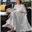 White Lady Ribbon Cotton Dress ขายเดรสผ้าคอตตอน thumbnail 3