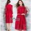 Maxi Dress เดรสผ้าลูกไม้งานแบรนด์แฟชั่นเกาหลี thumbnail 3