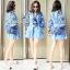 SV01310816 &#x1F389Sevy Embroidered Bohemian Cute Dolly Sleeve Tassel Rop Mini Dress Type: Mini Dress thumbnail 1