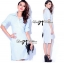 Lady Ribbon Online ขายส่งเสื้อผ้าออนไลน์ Lady Ribbon LR03040816 &#x1F380 Lady Ribbon's Made &#x1F380 Lady Lilly Chinoise Chic Backless Shirt Dress thumbnail 4