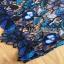 Lady Ribbon Sexy Blue Floral Lace Mini Dress thumbnail 12