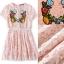 Lady Ribbon Online เสื้อผ้าออนไลน์ ขายส่ง normal ของแท้ NA13140716 &#x1F389Normal Ally Present embroidered flower lace elegance dress&#x1F389 (เดรสลูกไม้งานปัก , ซับในอย่างดีทั้งชุด) thumbnail 5