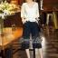 Normal Ally Present Casual Lace autumn set&#x1F389 (เสื้อ + กางเกง, มีซับใน) thumbnail 2