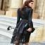 long dress ผ้าซาติน เสื้อผ้าแฟชั่น เสื้อผ้าแฟชั่นเกาหลี Cliona thumbnail 3
