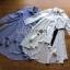 Lady Ribbon Online เสื้อผ้าออนไลน์ขายส่ง Lady Ribbon เสื้อผ้า LR12180816 &#x1F380 Lady Ribbon's Made &#x1F380 Lady Lauretta Minimal Chic Poplin Cotton Long Shirt with Ribbon เชิ้ตยาวผ้า thumbnail 8