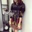 Lady Ribbon Online เสื้อผ้าแฟชั่นออนไลน์ขายส่ง เลดี้ริบบอนของแท้พร้อมส่ง sevy เสื้อผ้า SV16240716 BEST SELLER-Restock &#x1F389Sevy Pharaoh Egypt Style Long Sleeve Mini Dress thumbnail 4