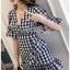 Dress Lady Ribbon ขายเดรสผ้าลายสก็อต thumbnail 3