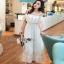 Lady Ribbon Maxi Dress เดรสยาว thumbnail 4