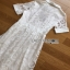 Lady Ribbon White Lace Midi Shirt Dress thumbnail 10