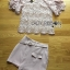 Lady Ribbon Online เสื้อผ้าออนไลน์ ขายส่งของแท้ราคาถููก LR17110716 &#x1F380 Lady Ribbon's Made &#x1F380 Lady Christina Modern Vintage Lace Blouse and Hot skirt Set thumbnail 5