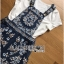 Lady Ribbon Set ขายเซ็ตเสื้อยืดสีขาวพร้อมเอี๊ยมกระโปรง thumbnail 7