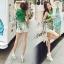Lady Ribbon Online ขายส่งเสื้อผ้าออนไลน์ เสื้อผ้า Sevy SV10030816 &#x1F389Sevy Play Sport Green Tassel Sleeveless T-Shirt thumbnail 3