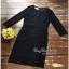 ชุดเดรสออกงานสีดำงานสวยค่ะ เสื้อผ้าเกาหลีเนื้อผ้า thumbnail 4