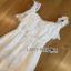 Lady Ribbon Michelle Pure White Lace Jumpsuit thumbnail 4