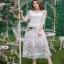 Lady Ribbon Eves Princess Style Dress ยาวขายส่งเดรสผ้า thumbnail 1