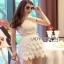 Lady Ribbon Mini Skirt Set เซ็ตเสื้อแขนกุด thumbnail 3
